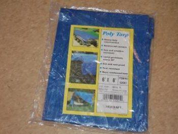 Blue Poly Tarp