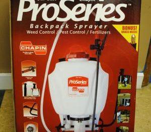 4 Gallon Back Pack Sprayer