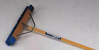 "60"" Wood Handled Contractor's Broom-T-W24BBP"