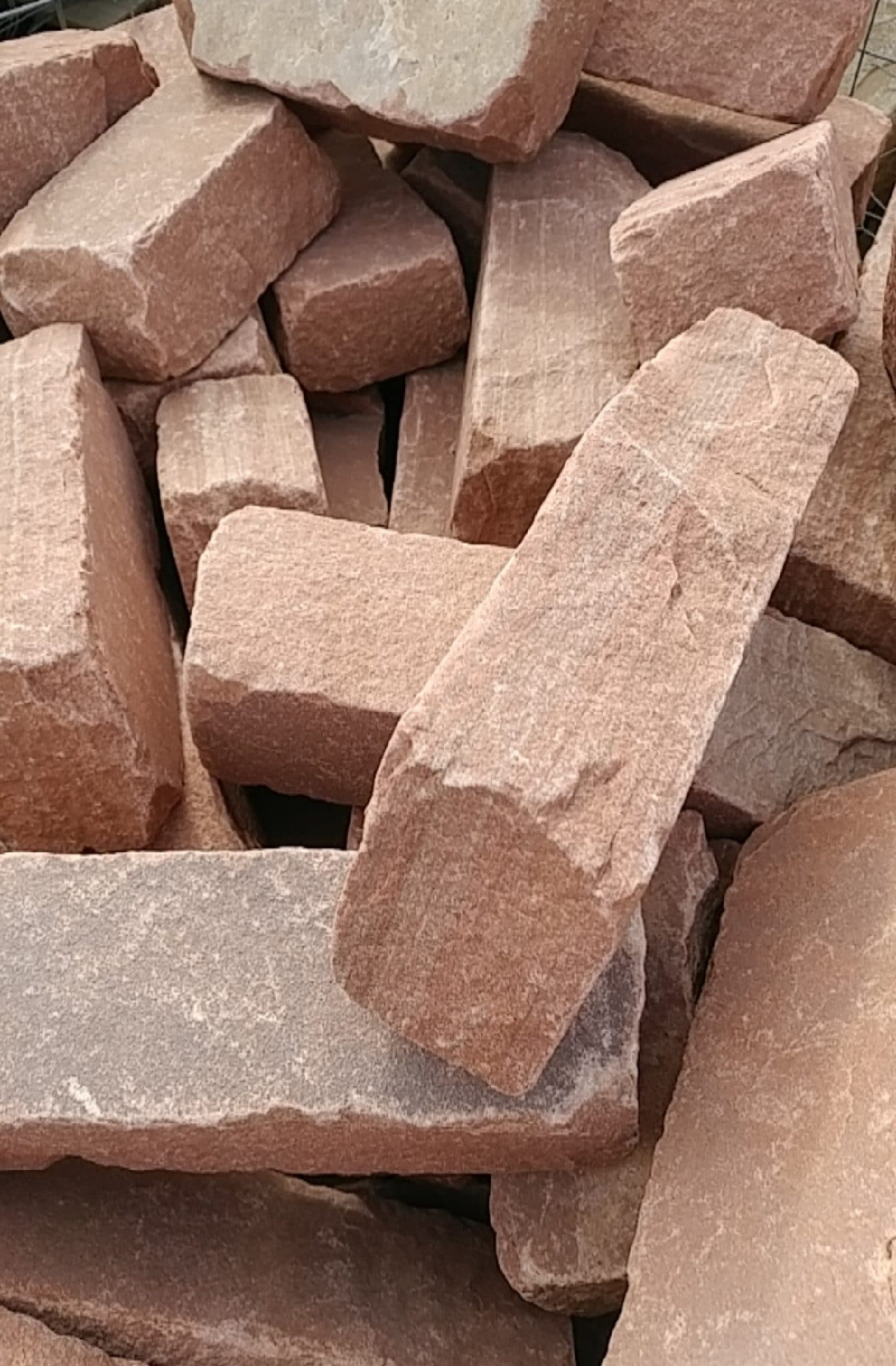 Rocky Mountain Rose Tumbled Edgers - Tiffany Lawn & Garden Supply